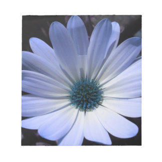 Blue Daisy Flower Notepad