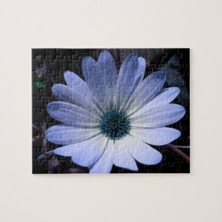 Blue Daisy Flower Puzzle