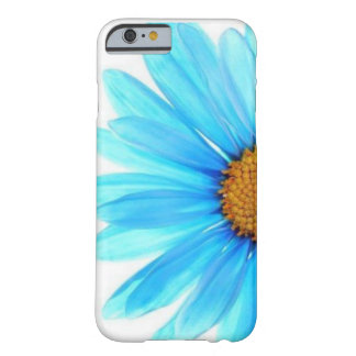 Blue Daisy Flower White Iphone Case