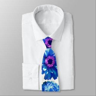 Blue Daisy Tie