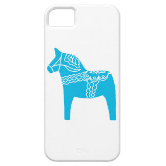 Blue Dala Horse iPhone 5 Cases