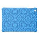 Blue Damask iPad Mini Cases