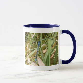 Blue Damselfly Mug
