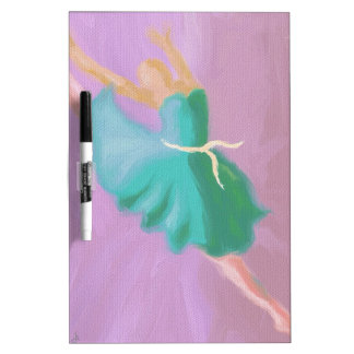 Blue Dance Leap Dry Erase Board