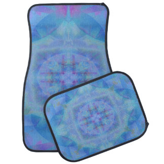 Blue Dancer Car Mat