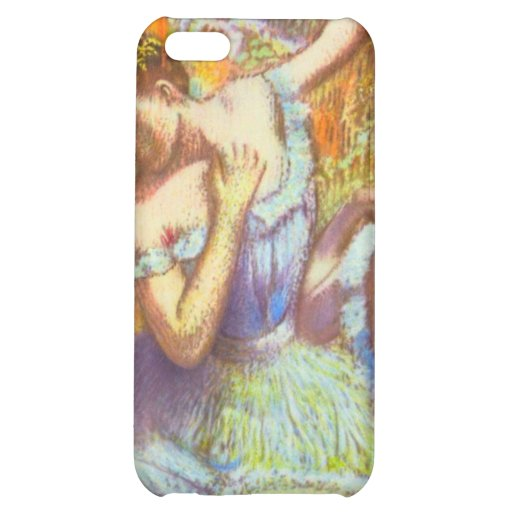Blue Dancers by Edgar Degas Speck Case iPhone 5C Covers