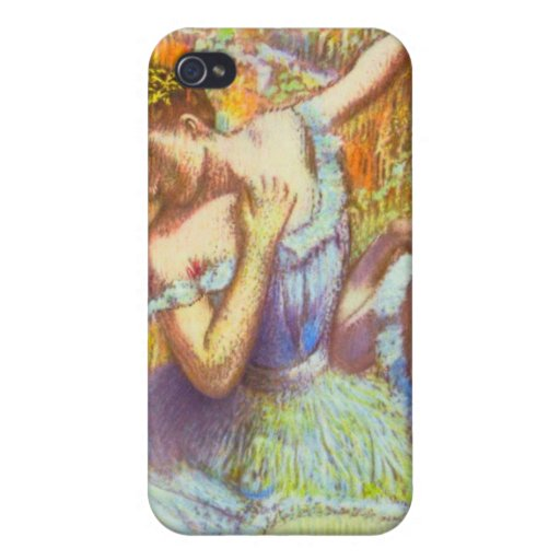 Blue Dancers by Edgar Degas Speck Case Cover For iPhone 4
