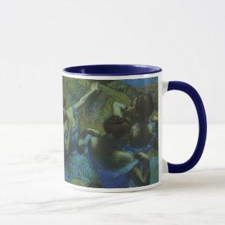 Blue Dancers by Edgar Degas, Vintage Impressionism Mug