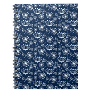 Blue Dandelion notebook