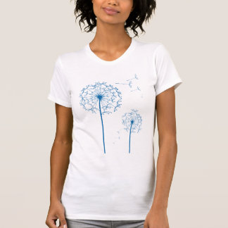 blue dandelion T-Shirt