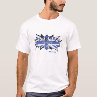 BLUE DANIEL WEST POW T-Shirt