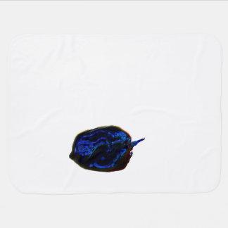 blue dark pepper at bottom food image receiving blanket