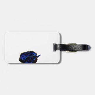 blue dark pepper at bottom food image luggage tag