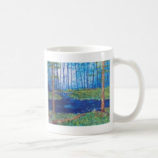 Blue Day Stream Mugs