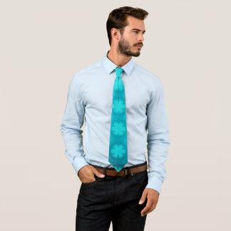blue decor tie