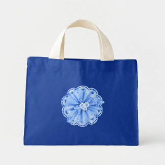 Blue Decoration Bag