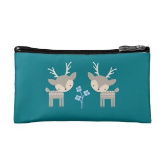 Blue Deer Cosmetic Bag