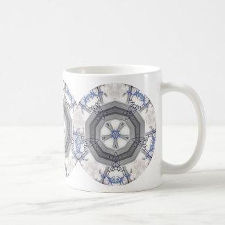 Blue dendrobium orchid - Mug