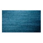 Blue Denim Jeans Texture For Background Pack Of Standard Business Cards