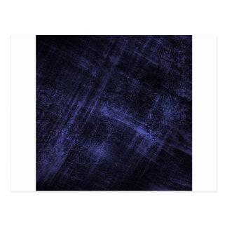 Blue Denim Scratch Postcard
