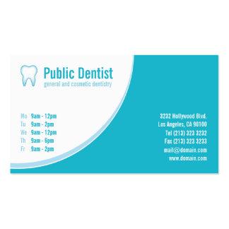 Blue Dental Care Dentist Business Card