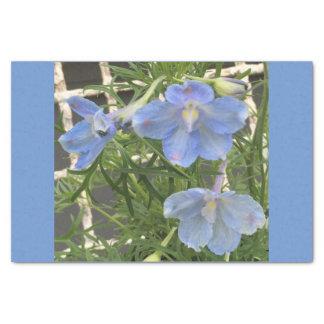 Blue Dephinium Tissue Paper