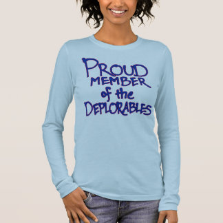 Blue Deplorables Long-Sleeve Shirt