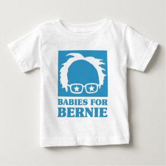 Blue Design Babies For Bernie Baby T-Shirt