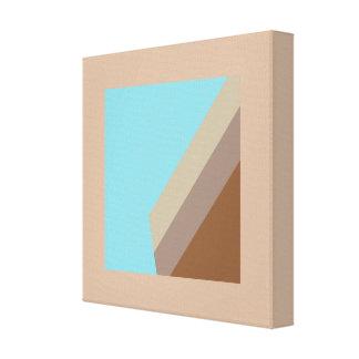 Blue Design Painting Beta Canvas Print