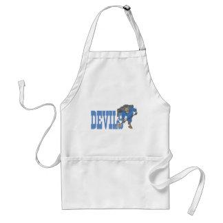 Blue Devil Adult Apron
