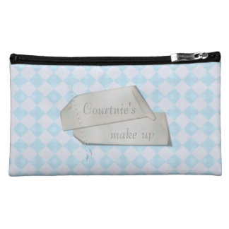 Blue Diamond Cosmetic Bag