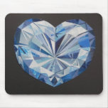 Blue diamond Mousepad