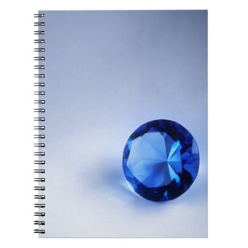 Blue Diamond Spiral Notebooks