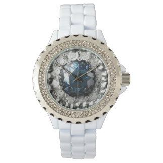 Blue Diamond Wrist Watch