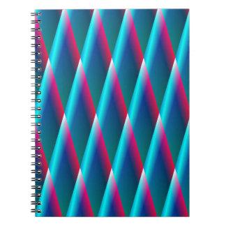Blue  Diamonds Note Book