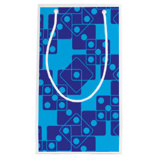 Blue Dice Small Gift Bag