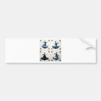 blue dig bumper stickers