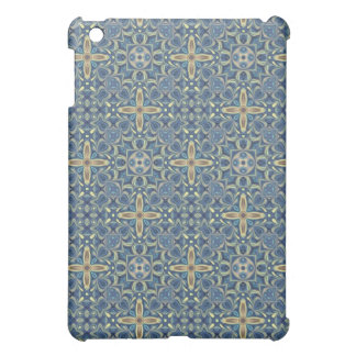 Blue Digital Art Abstract iPad Mini Cover