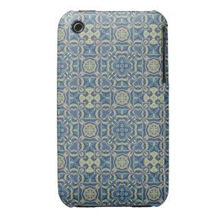 Blue Digital Art Abstract iPhone 3 Case