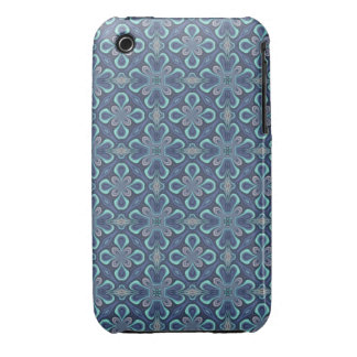 Blue Digital Art Abstract iPhone 3 Case-Mate Case