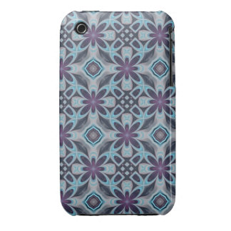 Blue Digital Art Abstract iPhone 3 Cover