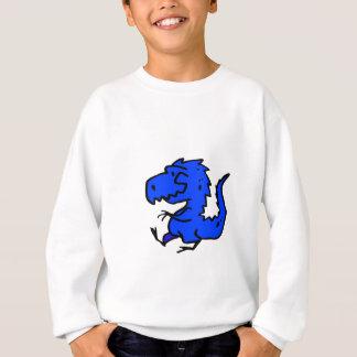 Blue Dino Sweatshirt