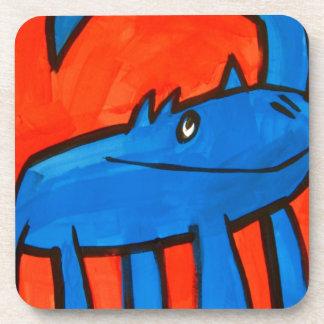 Blue Dinosaur Coaster