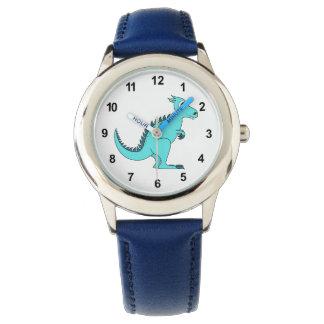 Blue Dinosaur Watch