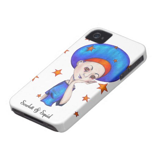 Blue Disco Phone Case for iPhone 4/4s iPhone 4 Cases