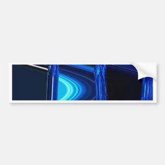 Blue Distraction Bumper Sticker