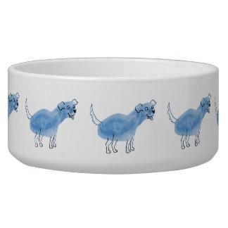 Blue Dog Dog Bowl