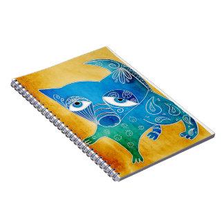 Blue dog note books