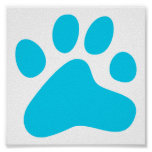 Blue Dog Paw