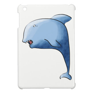 Blue dolphin case for the iPad mini
